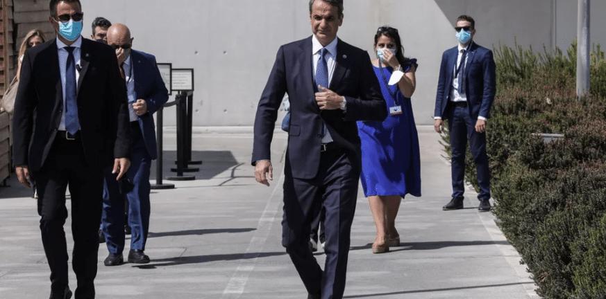 Ξεκινάει η Σύνοδος EUMED 9- Ο πρωθυπουργός υποδέχθηκε τους ηγέτες