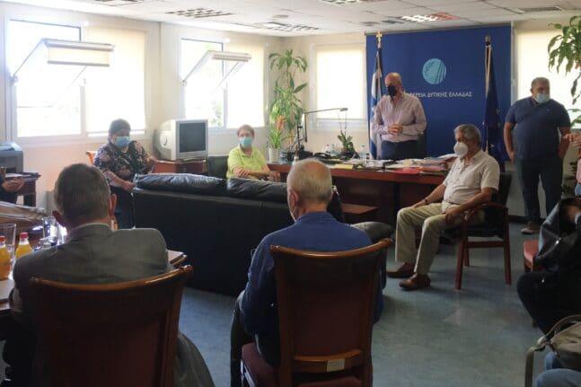 Περιφέρεια: Συνάντηση εργασίας για τη δημόσια υγεία με ομάδα εμπειρογνωμόνων από τη Γαλλία