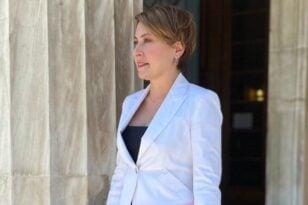 Αλεξοπούλου: Συλλυπητήρια για το θάνατο της Ρεγγίνας Αραβαντινού