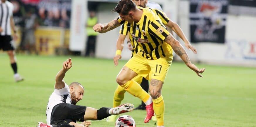 Super League 1: Σοκ για την ΑΕΚ, ισοφαρίστηκε από 3-0 σε 3-3! ΒΙΝΤΕΟ