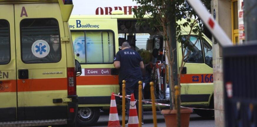 Βουτιά θανάτου για άνδρα στη Θεσσαλονίκη– Έπεσε από δεύτερο όροφο πολυκατοικίας