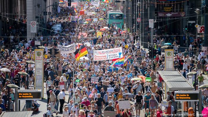 γερμανια διαδήλωση