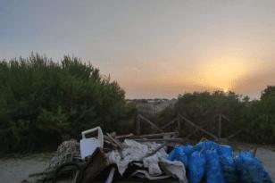 Αχαΐα: Φεύγοντας από την Καλόγρια αφήσαμε και 950 lt σκουπίδια!