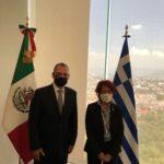 Με τον πρόεδρο του Μεξικού Αντρές Ομπραδόρ συναντήθηκε ο Κατσανιώτης ΦΩΤΟ