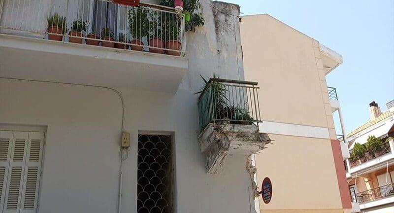 Πάτρα: Το μπαλκόνι - μυστήριο της άνω πόλης!
