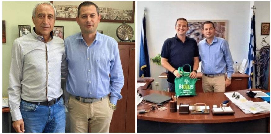 Περιφέρεια Δυτικής Ελλάδας: Η νέα αγροτική εποχή στις συναντήσεις Θ. Βασιλόπουλου με τους Αντιπεριφερειάρχες Σ. Μπάτο και Γ. Ζιμπίδη