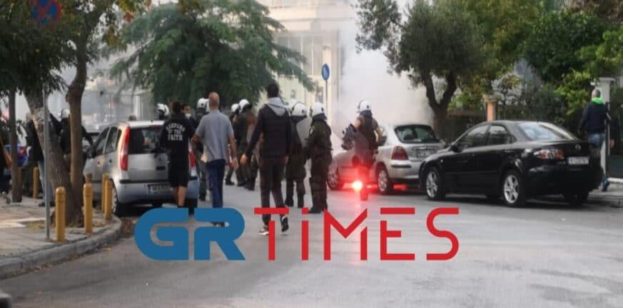 Θεσσαλονίκη: Νέα επεισόδια στην πλατεία Τερψιθέας πριν από το αντιφασιστικό συλλαλητήριο ΒΙΝΤΕΟ