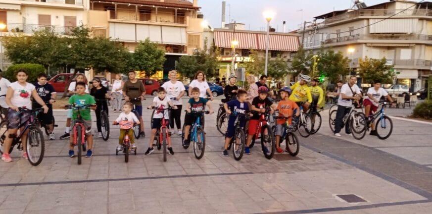 Δυτική Αχαΐα: Γέμισαν οι δρόμοι με ποδήλατα