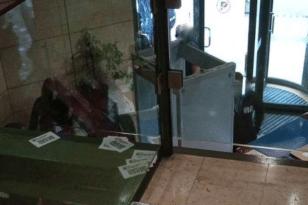 Εισβολή του Ρουβίκωνα στο υπουργείο Περιβάλλοντος και Ενέργειας ΦΩΤΟ