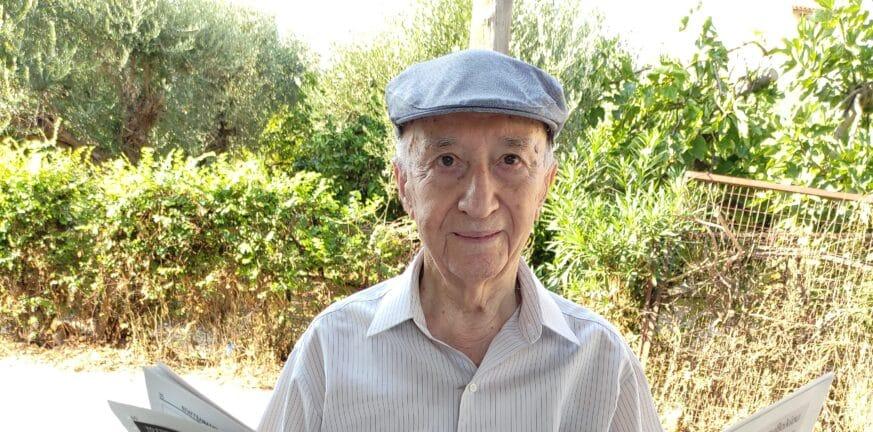 Πάτρα: Ξανά στο στούντιο σε ηλικία 95 χρονών