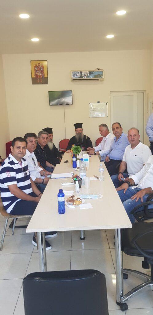Επίσκεψη του Μητροπολίτη Πατρών στην Κάτω Αχαΐα