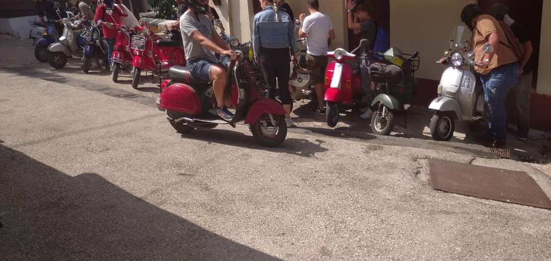 Vespa Club Aχαϊας: Βεσποβόλτα στα ορεινά