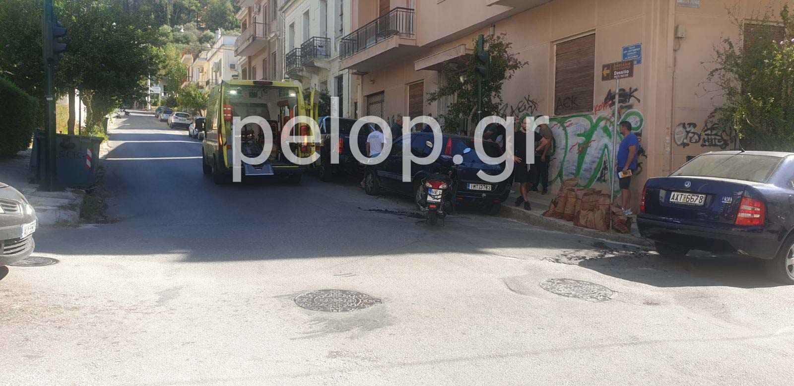 Πάτρα: Τροχαίο στην Καρόλου - Σημείο του αστικού οδικού δικτύου, το οποίο τείνει να μετατραπεί σε «καρμανιόλα»