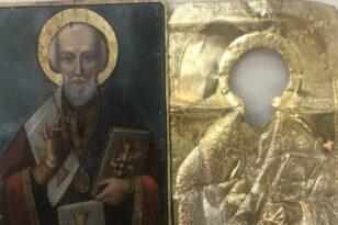 17 9 2021 Σύνελήφθη άνδρα για κλοπή εικόνας του Αγίου Νικολάου σε Ιερό Ναό στην Πάτρα e1631866224845