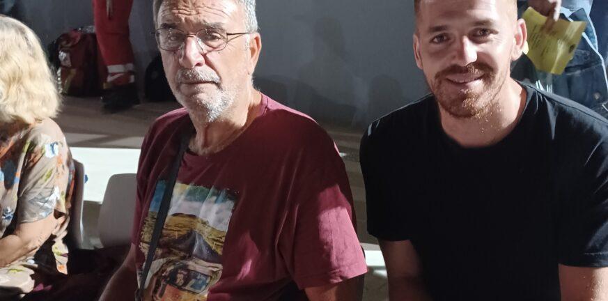 Πετρόπουλος-Λουμπαρδέας στην συναυλία του Γιάννη Χαρούλη