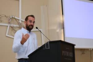 Παρουσιάστηκαν οι βραβευμένες προτάσεις για την αξιοποίηση της Τριχωνίδας - Παρών ο Φαρμάκης - ΦΩΤΟ