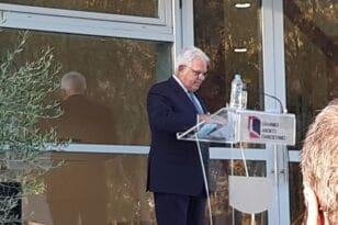 Η γιορτή του Ελληνικού Ανοικτού Πανεπιστημίου και η αιχμή Ζώρα για τη στάση Καλογερόπουλου ΦΩΤΟ