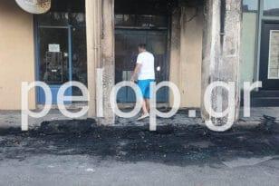 """Πάτρα: Βόμβα σε αυτοκίνητο """"τάραξε"""" την Γερμανού - Στις φλόγες smart νεαρού πατρινού, ζημιές σε νεοκλασικό"""