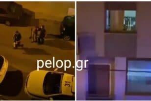 Πάτρα: Χτυπούσε την γυναίκα του και του φώναζαν οι γείτονες από τα μπαλκόνια να σταματήσει - Η σύλληψη και οι απειλές ΒΙΝΤΕΟ