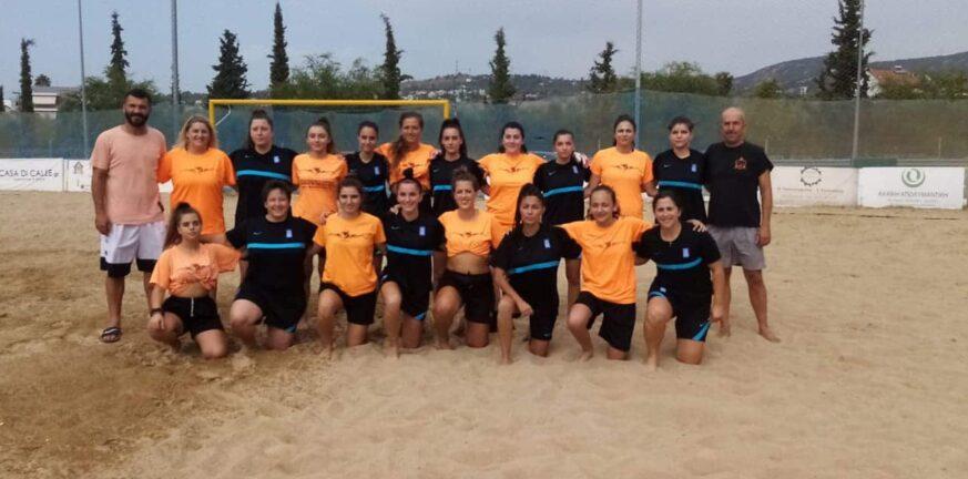 Beach Soccer: Πρόσφεραν θέαμα οι γυναίκες