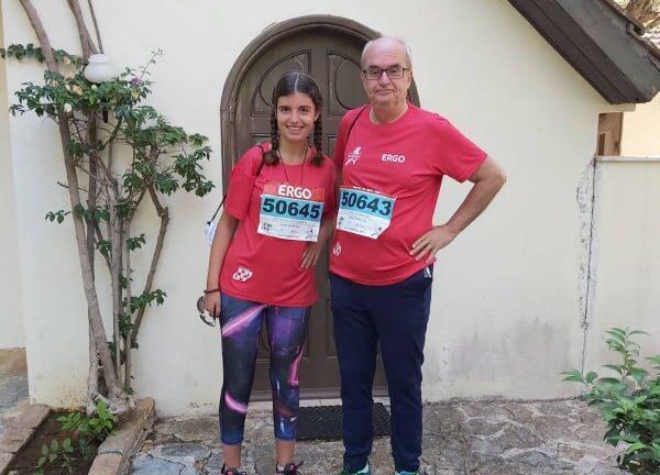 Ο Πέτρος Μαντάς έτρεξε με την κόρη του στο «Run Greece»
