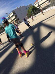 Ενας μήνας ζωής Inline Speed Skating Πάτρας από την Ακαδημία των Σπορ