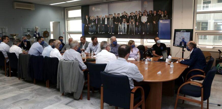 Σάββατο συσκέψεων με FIBA μέσω «Zoom» για Βαγγέλη Λιόλιο