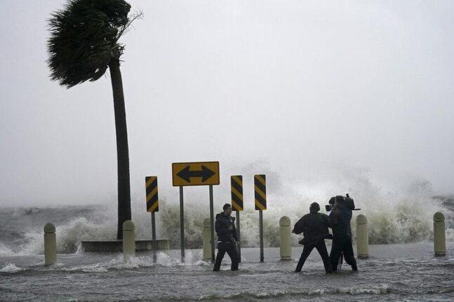 Τυφώνας Άιντα: Ο Μπάιντεν δεσμεύθηκε να καταπολεμήσει την κλιματική αλλαγή