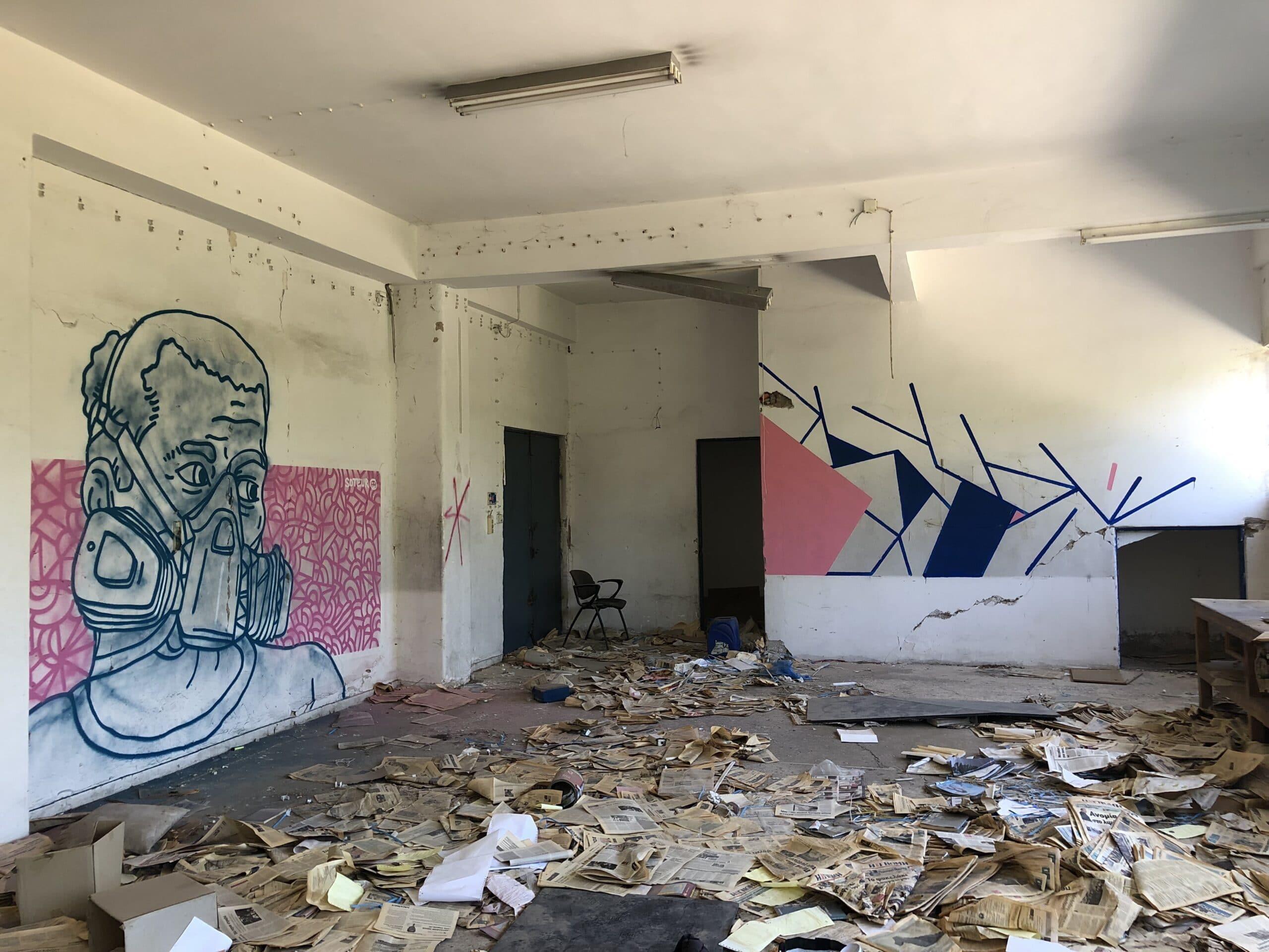 Δεκάδες έργα σε μυστικές τοποθεσίες της πόλης - Δύο από τους καλύτερους street artist της χώρας «εισβάλλουν» στην Πάτρα ΦΩΤΟ