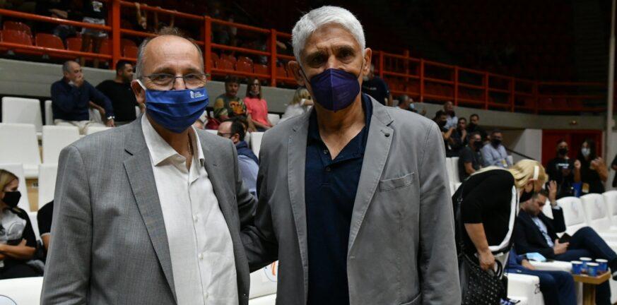 Τι συζήτησαν Λιόλιος-Γιαννάκης στο Ρίον στο περιθώριο του «Super Cup»