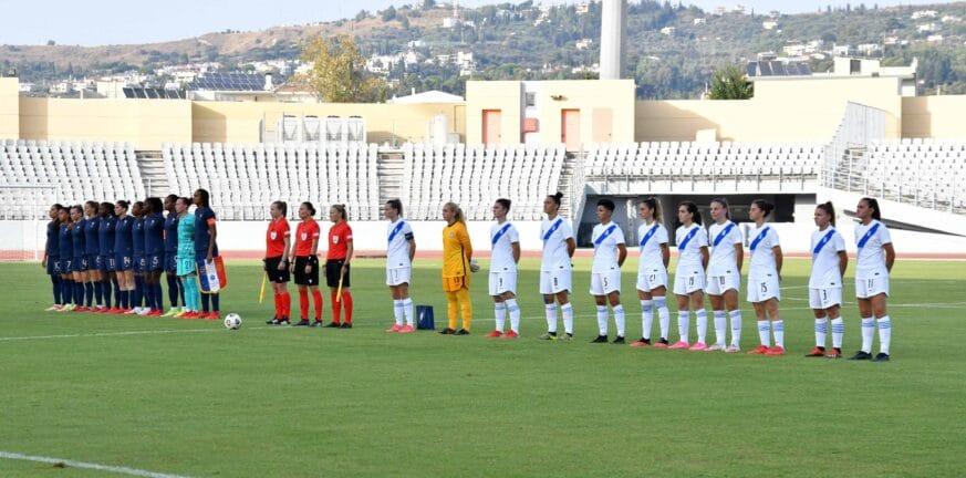 Η Γαλλία δεν σταμάτησε να βάζει γκολ, 10-0 την Εθνική μας...
