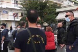 Θεσσαλονίκη: Φρούριο το ΕΠΑΛ Σταυρούπολης - Συγκέντρωση αντεξουσιαστών