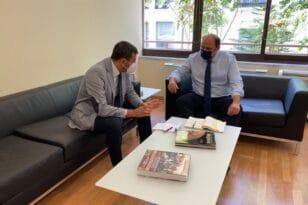 Νικολακόπουλος: Πρόταση συνδυαστικών και μεγάλων έργων για την Ηλεία και την πυρόπληκτη περιοχή