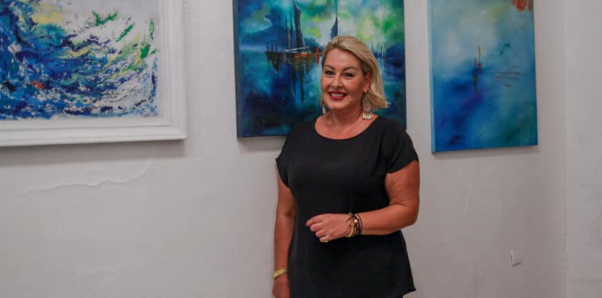"""Εβδομάδα Ευαισθητοποιήσης και Ενημέρωσης για τον Καρκίνο - Τα έργα τέχνης που """"φώτισαν"""" τις εκδηλώσεις!"""