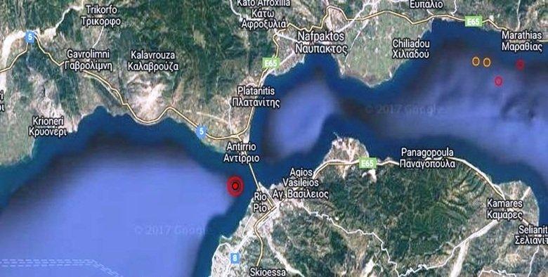 Πατραϊκός, Ιόνιο και Κορινθιακός στις επικίνδυνες περιοχές για σεισμό