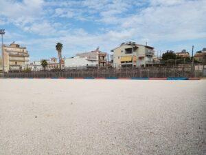Γήπεδο Προσφυγικών: Συνεχίζονται οι εργασίες ΦΩΤΟΓΡΑΦΙΕΣ