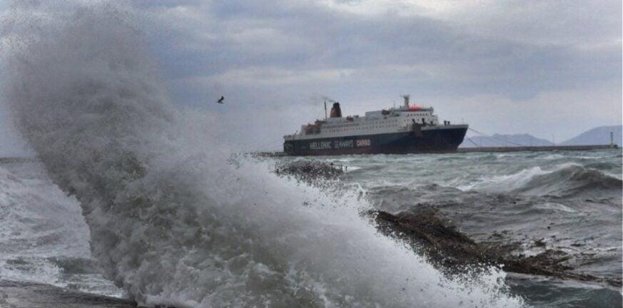 Απαγορευτικό στο Αιγαίο - Λίγα δρομολόγια λόγω ισχυρών ανέμων