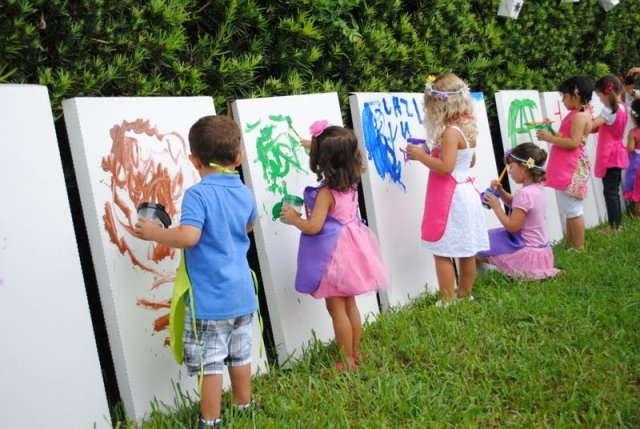 art kids party
