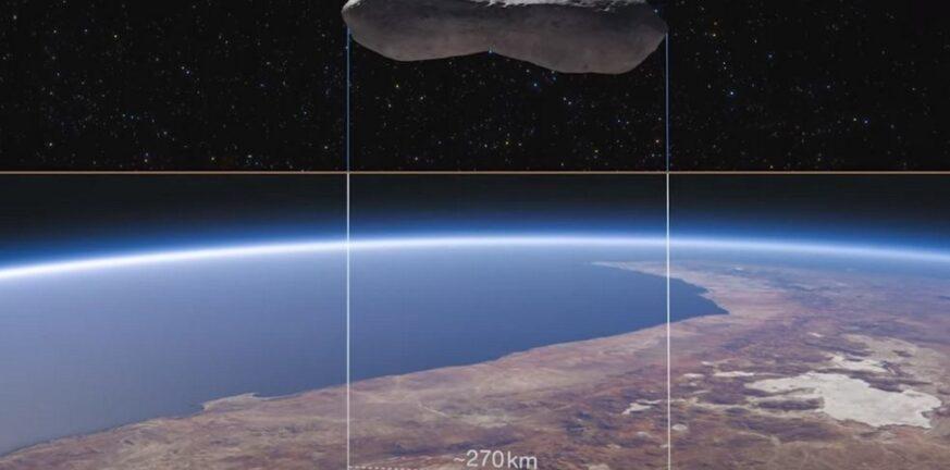 Ο αστεροειδής «Κλεοπάτρα» μοιάζει με κόκκαλο σκύλου ΒΙΝΤΕΟ