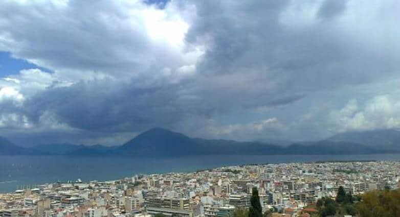 Αλλάζει ο καιρός στη Δυτική Ελλάδα - Πόσο επηρεάζει την Πάτρα ΔΙΑΔΡΑΣΤΙΚΟΣ ΧΑΡΤΗΣ