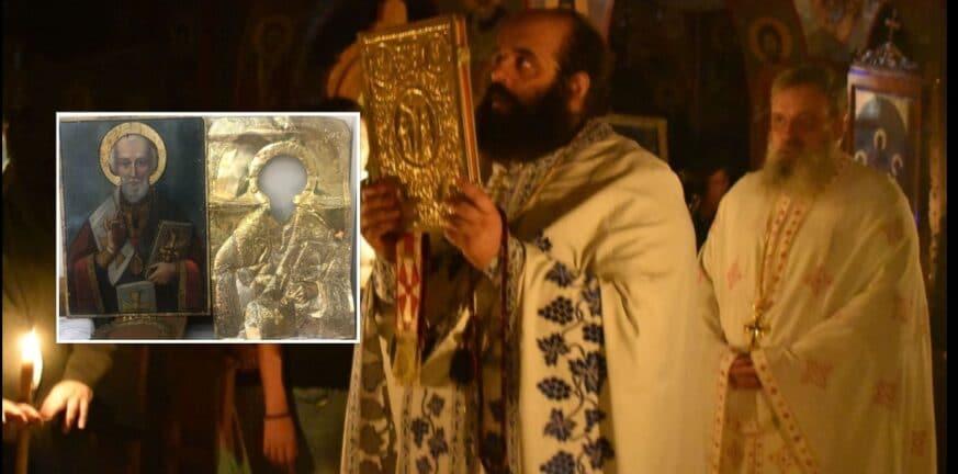 Πάτρα: Ο Άγιος έβαλε το χέρι του…για την εικόνα!