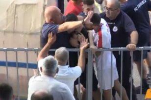 Της...κακομοίρας στο φιλικό Τρίκαλα-Απόλλων Λάρισας, πιάστηκαν στα χέρια! VIDEO
