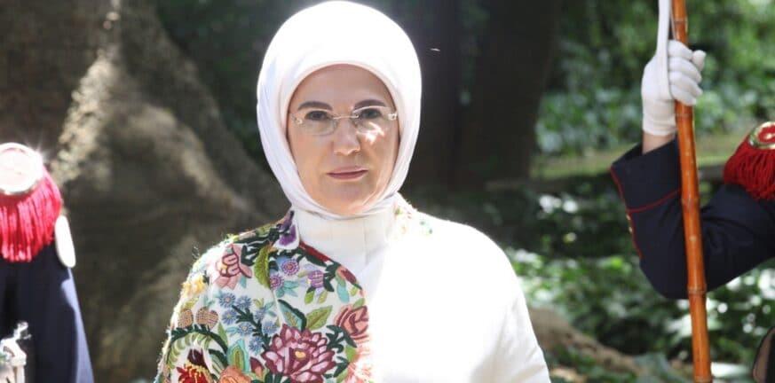 Η Εμινέ Ερντογάν εκδίδει βιβλίο χρήματα του κρατικού προϋπολογισμού