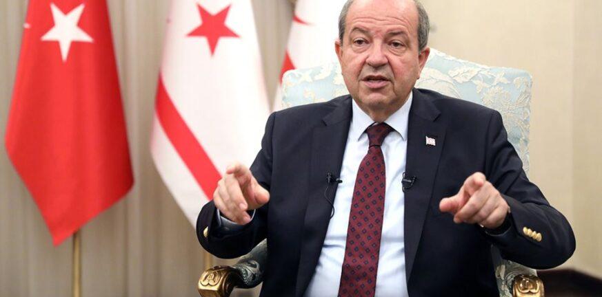 Προκαλεί ο Τατάρ: Η Κύπρος θα πρέπει να μεταβιβαστεί στην Τουρκία
