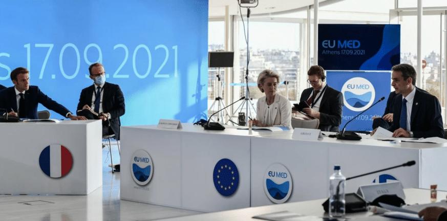EuroMed 9-Μητσοτάκης: «Να μετατρέψουμε την Ευρώπη στην πρώτη κλιματικά ουδέτερη ήπειρο»