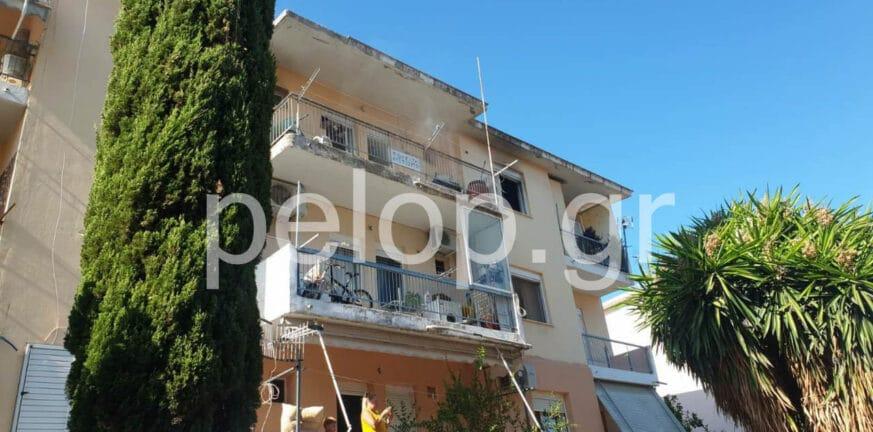 Πάτρα: Κινητοποίηση της Πυροσβεστικής για φωτιά σε διαμέρισμα ΒΙΝΤΕΟ