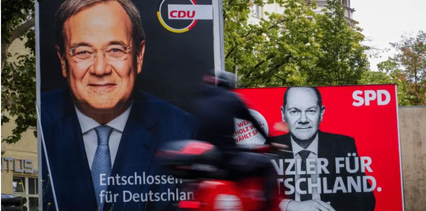 Γερμανία - Εκλογές: Όλαφ Σολτς και Άρμιν Λάσετ για τη διαδοχή της Μέρκελ στην Καγκελαρία