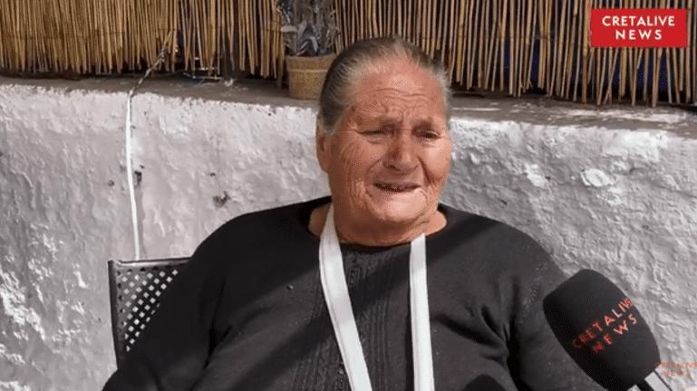 Σεισμός Κρήτη: «Κάντε κάτι σας παρακαλώ, όχι για μένα αλλά για τα παιδιά μου»