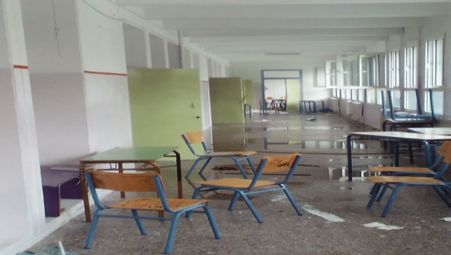 Εξωσχολικοί τα «έσπασαν» σε υπό κατάληψη σχολείο