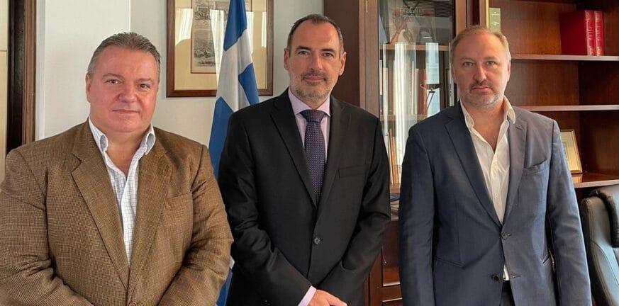 Συνάντηση Κατσανιώτη με Προέδρους των Κοινοτήτων Αλεξανδρείας και Καΐρου